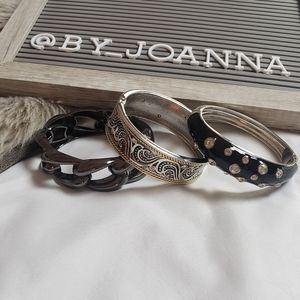 Set of 3 Costume Bangles
